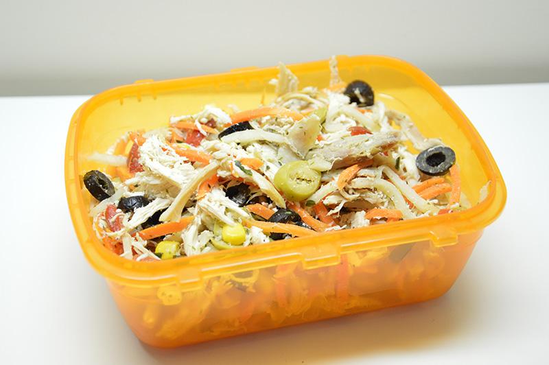 insalata di pollo | pausa pranzo